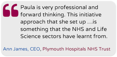 Insightful Health Solutions testimonial from Plymouth Hostpitals NHS Trust