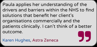 Insightful Health Solutions testimonial from Astra Zeneca